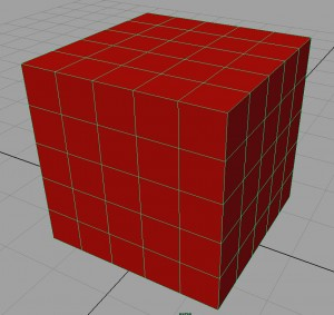 solid-red-cube