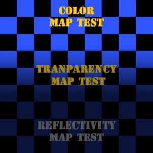 Color texture map.