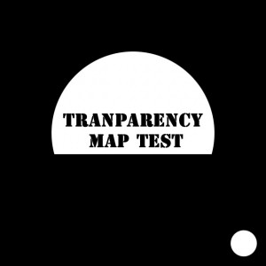 Transparency texture map.